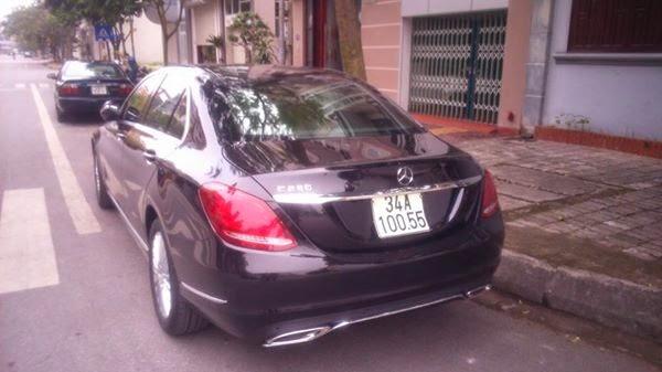 Mercedes hạng sang của đại gia Hải Dương