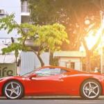 Siêu xe Ferrari 458 italia bị tai nạn không phải của Phan Thành