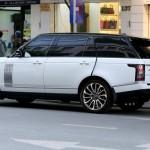 Ngắm xe siêu sang Range rover LWB trên đường phố của Ngọc Trinh
