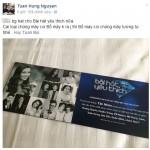 Bàn luận về cách sắp xếp tên ca sĩ lên vé mời ở Việt Nam