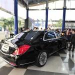 Xe siêu sang Maybach S600 giá 11 tỷ đầu tiên được giao cho khách