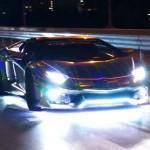 Siêu xe Lamborghini Aventador độ toàn đèn LED của xã hội đen Nhật Bản