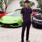 Phan Thành đại gia trẻ tuổi chơi siêu xe nhất Việt Nam