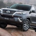 Ngắm Toyota Fortuner đời mới 2016 với nhiều sự thay đổi