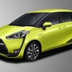 Xe gia đình 7 chỗ Toyota Sienta thế hệ mới trình làng