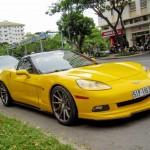 Ngắm siêu xe Chevrolet Corvette trên đường phố Việt Nam