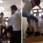Choáng Video Nam sinh đánh bạn nữ không thương tiếc
