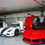 Nhiều siêu xe đắt tiền không may tai nạn