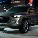 Hyundai Santa Cruz xe bán tải hiện đại
