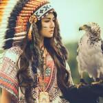Choáng bộ ảnh nữ thổ dân cực xinh và hở hang