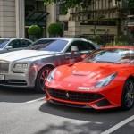 Siêu xe hiếm và đắt trên thế giới tụ họp tại Paris Pháp