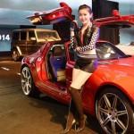 Ngắm Á Hậu Huyền My khoe dáng xinh bên siêu xe Mercedes