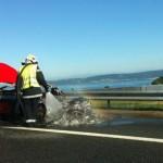 Thiếu gia đốt siêu xe Ferrari 458 italia 5 tỷ để đòi mua xe mới