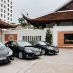 Khách sạn Sheraton Hà Nội mua 3 xe Lexus đón khách
