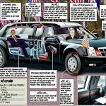 Cận cảnh xe siêu sang Cadillac One của tổng thống Mỹ Obama
