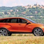 SUV mới hoàn toàn của hãng Lada được mong đợi
