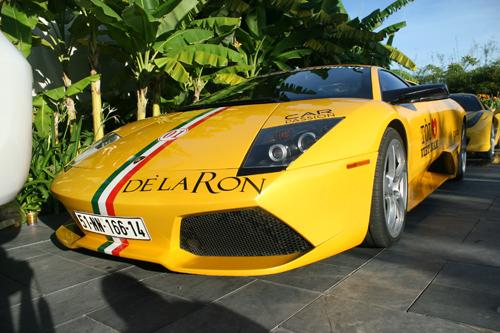 Lamborghini của Cường đôla