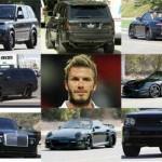 Ngắm dàn siêu xe khủng của sao bóng đá David Beckham