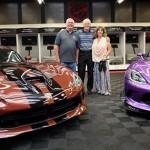Choáng đôi vợ chồng bỏ ra trăm tỷ mua 77 chiếc Dodge Viper