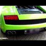 Choáng dàn siêu xe Lamborghini nẹt pô cực lớn trên phố