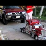 Xe tải đồ chơi kéo được xe bán tải cỡ lớn