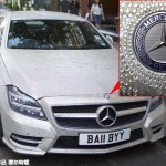 Đại gia bỏ hàng chục tỷ dát kim cương cho xe Mercedes