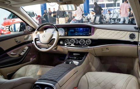 Image result for Maybach S600 nội thất baoxehoi