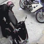 Ăn trộm xe máy siêu nhanh tại Việt Nam