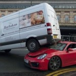 Vụ tai nạn đắt giá của siêu xe Porsche Cayman