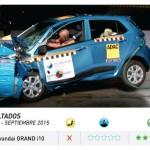 Xe nhỏ Hyundai Grand i10 là xe không an toàn
