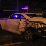 Xe sang Lexus mới chưa biển tai nạn tan nát