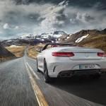 Sức mạnh vượt trội của siêu xe Mercedes-AMG S 63 mui trần
