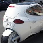 Độc đáo mẫu xe ô tô 2 bánh