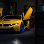 Siêu xe BMW i8 màu vàng cực đẹp giá bán 3 tỷ đồng