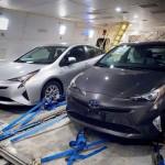 Xe hybrid Toyota Prius mới hoàn toàn lộ ảnh đầu tiên