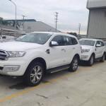 Xe SUV gia đình giá rẻ Ford Everest thế hệ mới về Việt Nam