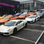 Dàn siêu xe Lamborghini hàng chục chiếc khoe hàng