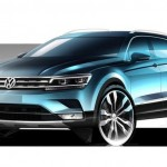 Xe sang Volkswagen Tiguan hoàn toàn mới sắp ra mắt