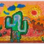 """Học sinh Việt Nam vẽ tranh ước mơ """"siêu xe xương rồng"""""""