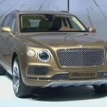 Vừa ra mắt xe siêu sang Bentley Bentayga được đặt mua nhiều