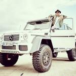 Lewis Hamilton mua xe Mercedes G63 AMG 6 bánh nửa triệu đô