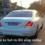 Siêu xe Mercedes S600 màu trắng biển đẹp Hà Nội