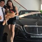 Huyền My mua xe Mercedes S400 giá gần 4 tỷ đồng