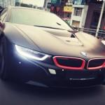 BMW i8 giá 7 tỷ độ màu đen của thiếu gia Hà Nội