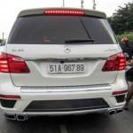 Điểm danh xe hàng khủng Mercedes GL63 AMG tại Việt Nam