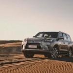 Xe SUV cho đại gia Lexus LX570 giá bán chính hãng 5,6 tỷ đồng