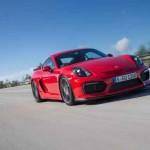 Xe sang Porsche Cayman GT4 dùng cho đường đua