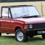 Range Rover mui trần hiếm dù cũ giá vẫn cao