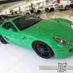 Siêu xe Ferrari 599 GTB màu xanh độc rao bán 10 tỷ đồng