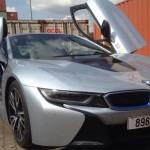 Thêm siêu xe BMW i8 màu bạc về Việt Nam